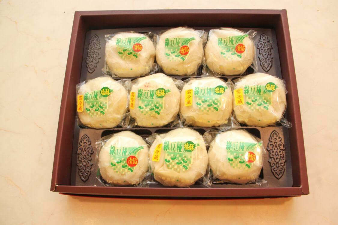 綠豆椪10粒裝
