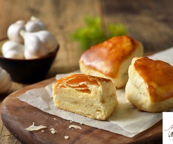 蒜頭酥、太陽餅