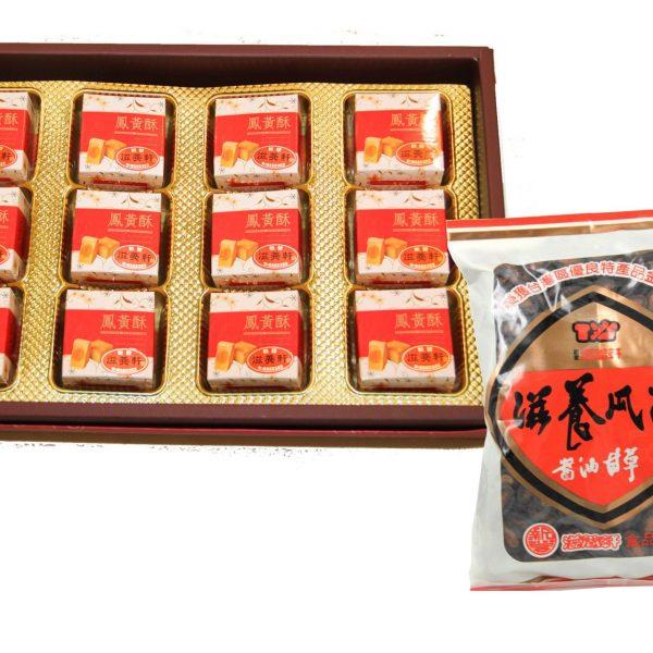 鳳黃酥禮盒+瓜子