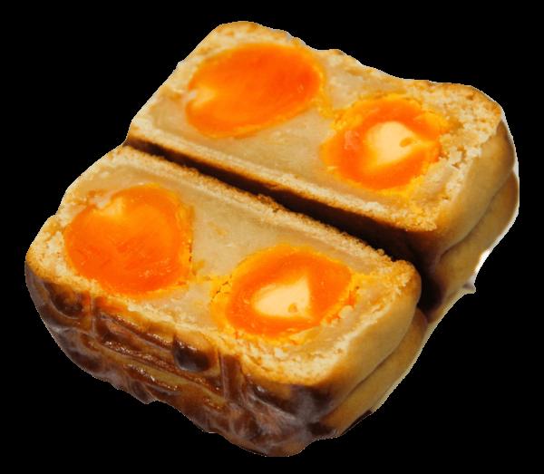 蓮蓉雙蛋黃招牌廣式月餅