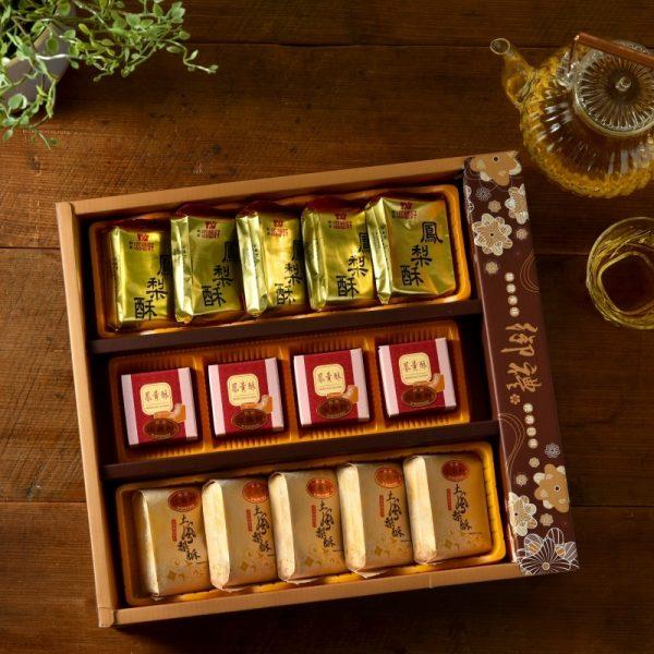綜合鳳梨酥鳳黃酥禮盒