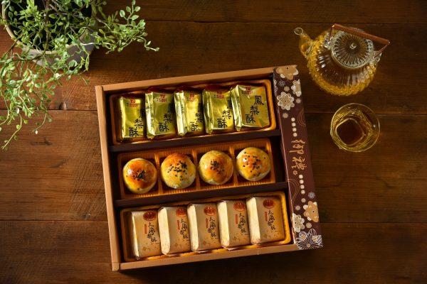 蛋黃酥鳳梨酥綜合禮盒
