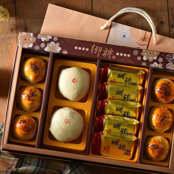 蛋黃酥綠豆椪鳳梨酥禮盒