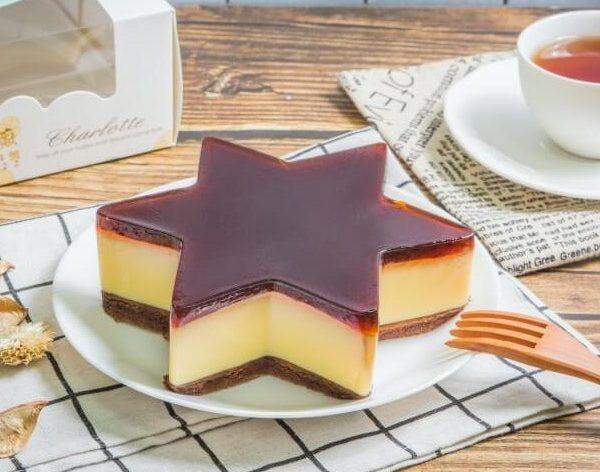 星星水晶蛋糕